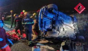 Un hombre resulta herido en un accidente en Rojales 7