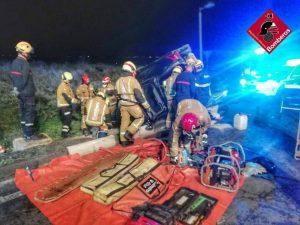 Un hombre resulta herido en un accidente en Rojales 8