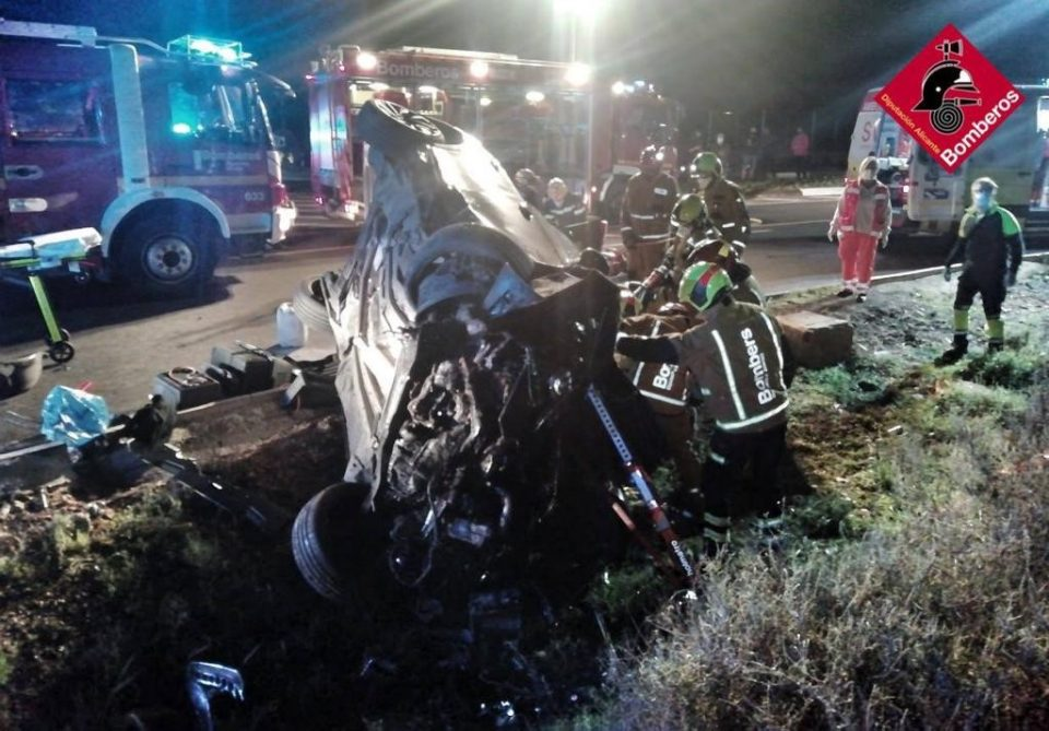 Un hombre resulta herido en un accidente en Rojales 6