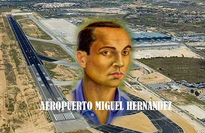 """""""El aeropuerto Miguel Hernández"""" por Ramón Palmeral 6"""