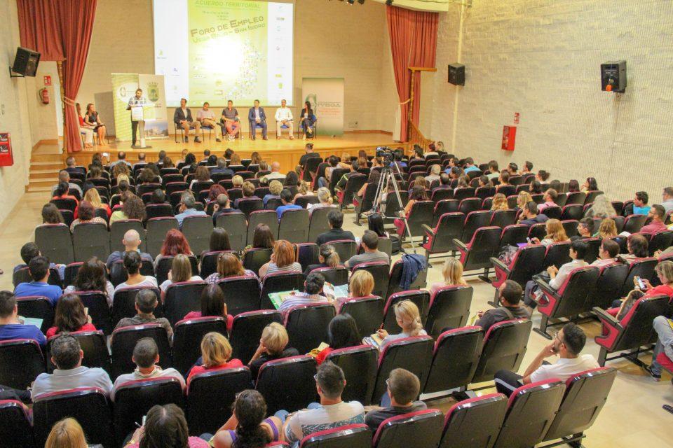 Gran éxito del Foro de Empleo celebrado en San Isidro 6