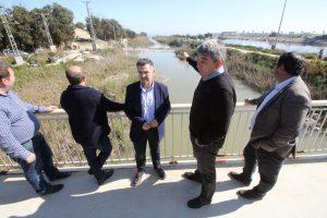 El PSPV pide dragar la desembocadura del río y elevar la N-332 para evitar inundaciones 7