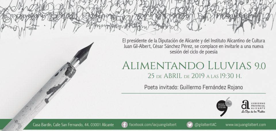 """La Fundación Cultural Miguel Hernández colabora en el ciclo """"Alimentando lluvias 9.0"""" 6"""