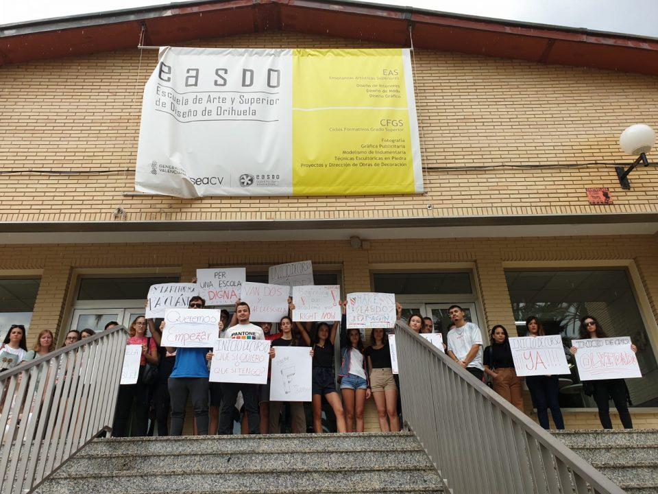 La EASDO sigue sin abrir sus puertas un mes después de la gota fría 6