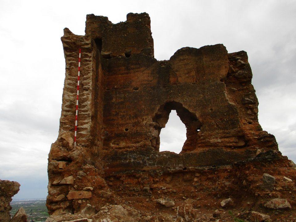 Analizan los daños del derrumbe de una parte de la Torre Taifal del Castillo de Orihuela 6