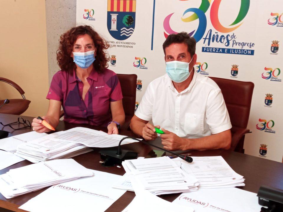 Los Montesinos reparte más de 180.000 euros entre 37 empresas afectadas por la pandemia 6