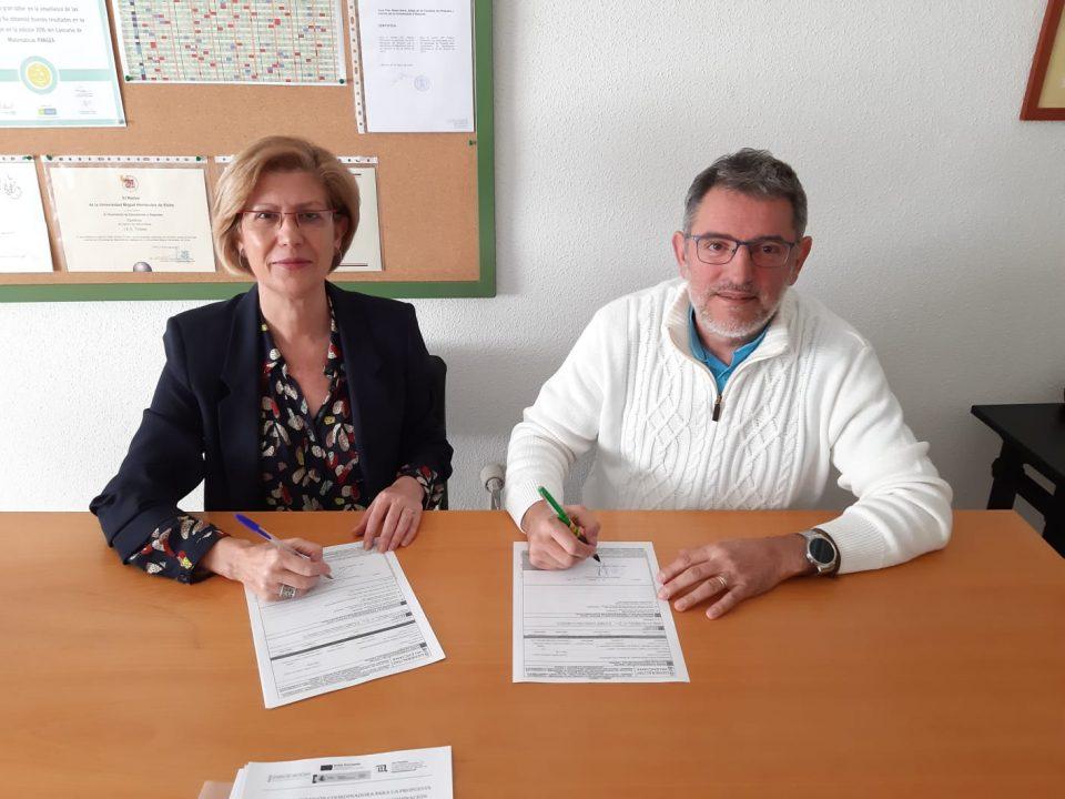 El IES Tháder de Orihuela y el Conservatorio firman un acuerdo de coordinación horaria 6