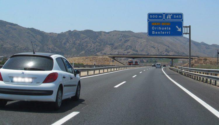 Sale el proyecto del tercer carril en la A7 entre Crevillent y Orihuela 6