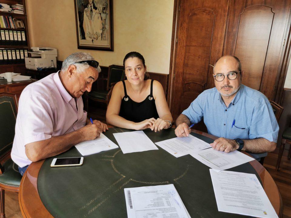 Firmado el contrato de limpieza en Benejúzar 6