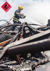 Dispositivo especial de Bomberos en la Vega Baja por riesgo de incendios 7