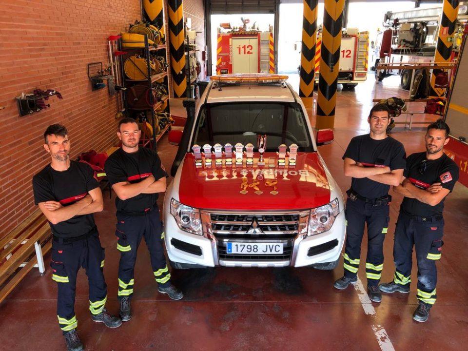 Bomberos del Consorcio logran media docena de medallas en una competición de rescate 6