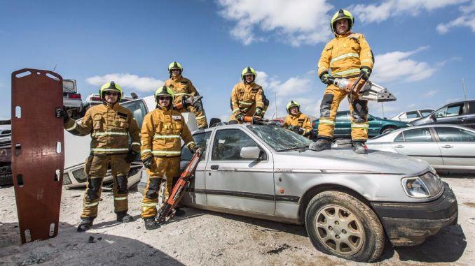 Bomberos de Orihuela participan en el Encuentro Nacional de Rescate en Accidentes de Tráfico 6