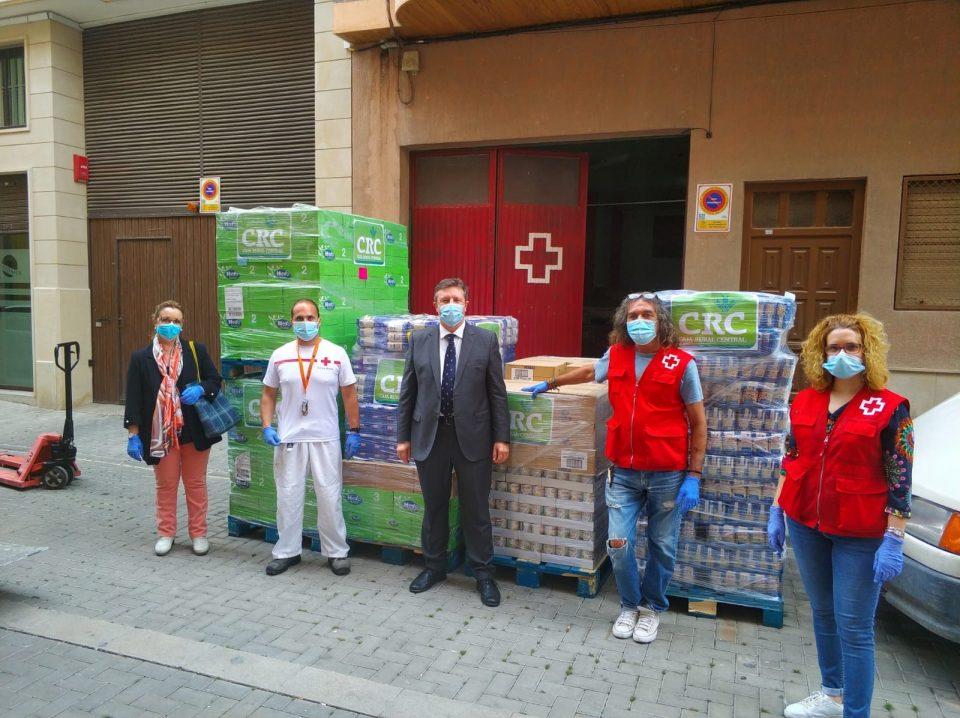 Caja Rural Central dona 50 toneladas de alimentos a los afectados por la crisis sanitaria 6