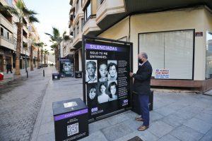 'Silenciadas': una exposición interactiva en la calle de Torrevieja contra la violencia machista 7