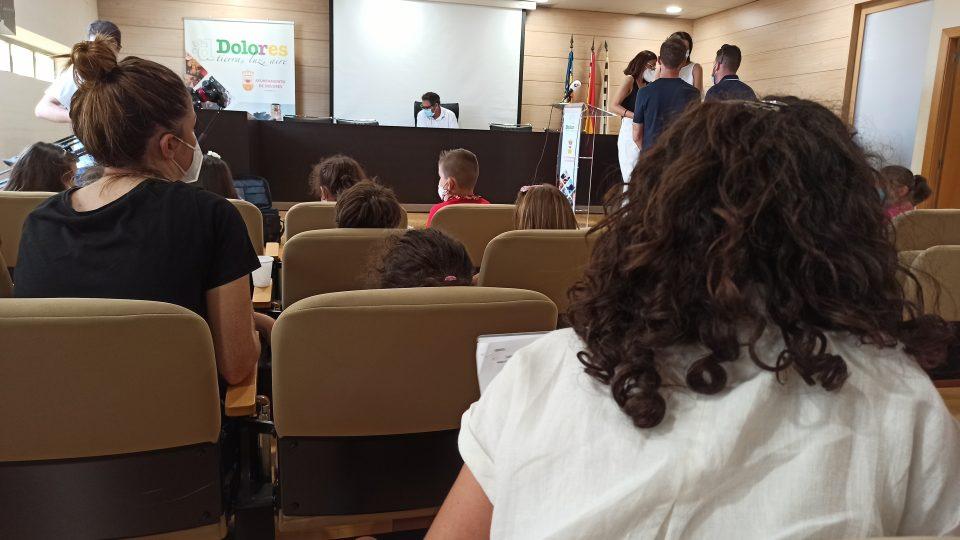 """Los niños y niñas de Dolores proponen mejoras mediante el proyecto """"Ruta al cole segura"""" 6"""