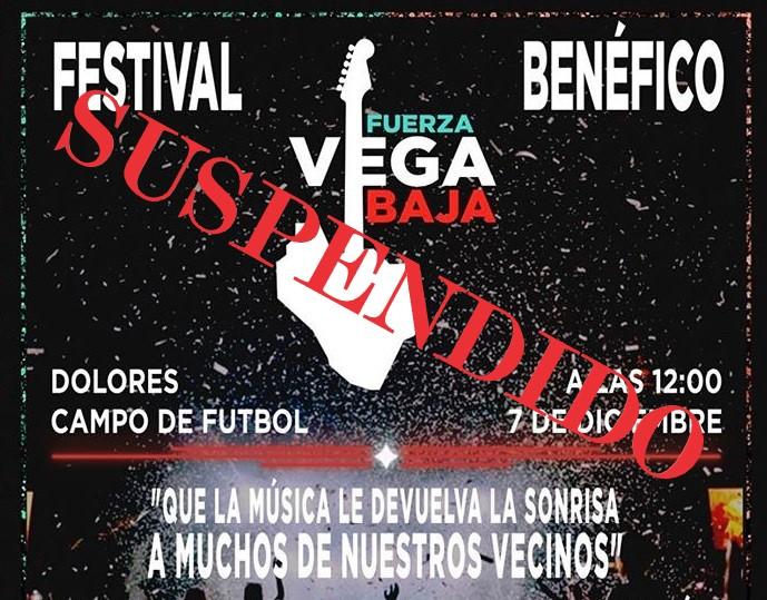 """Suspendido el Festival Benéfico """"Fuerza Vega Baja"""" 6"""
