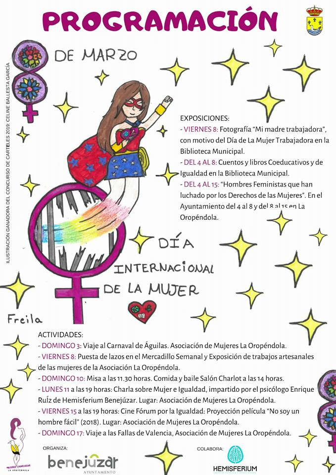 Benejúzar extiende durante un mes las actividades del Día de la Mujer 6
