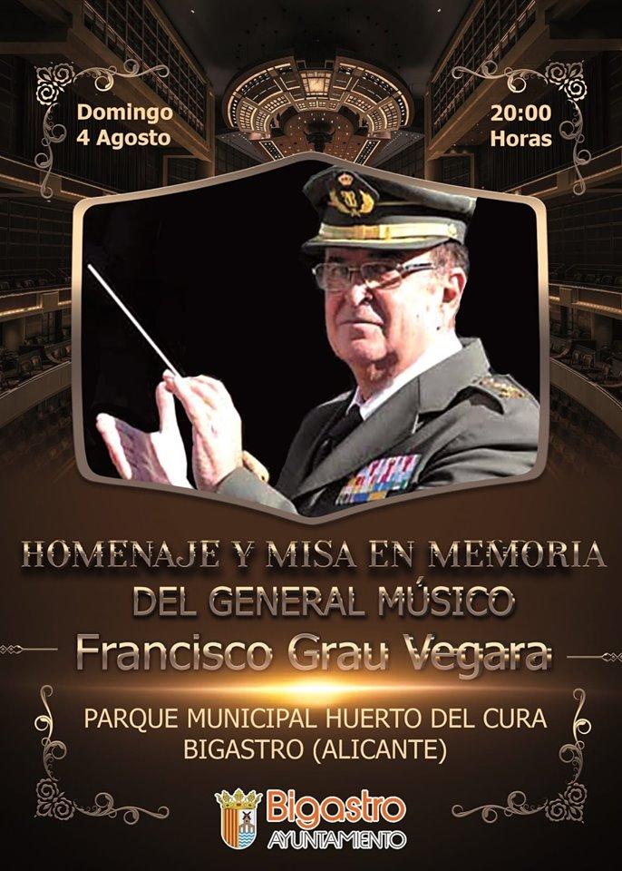 Bigastro recibirá el domingo los restos mortales de Francisco Grau Vegara 6