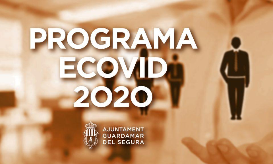 Guardamar demanda nuevas ocupaciones dentro del programa de empleo ECOVID19 6