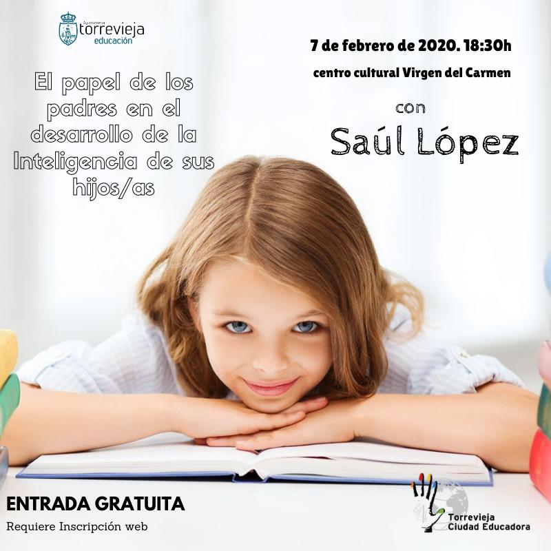El neuromotricista Saúl López asistirá a la Jornada de la Escuela de Familias de Torrevieja 6