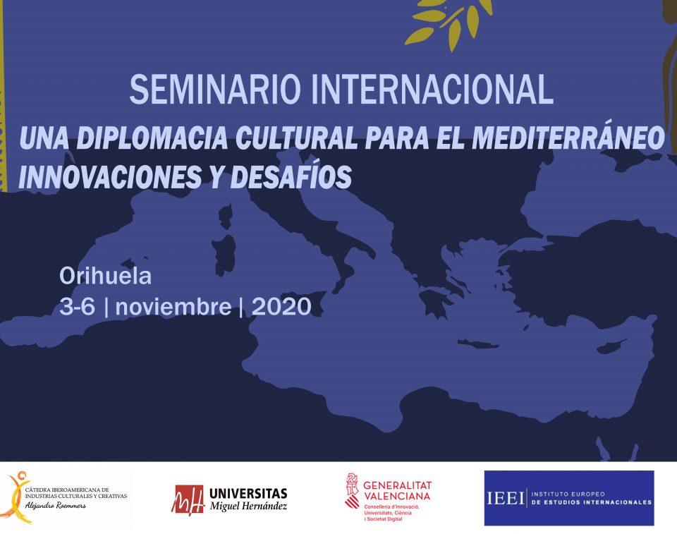 """Orihuela acogerá en noviembre el Seminario """"Una diplomacia cultural para el Mediterráneo"""" 6"""