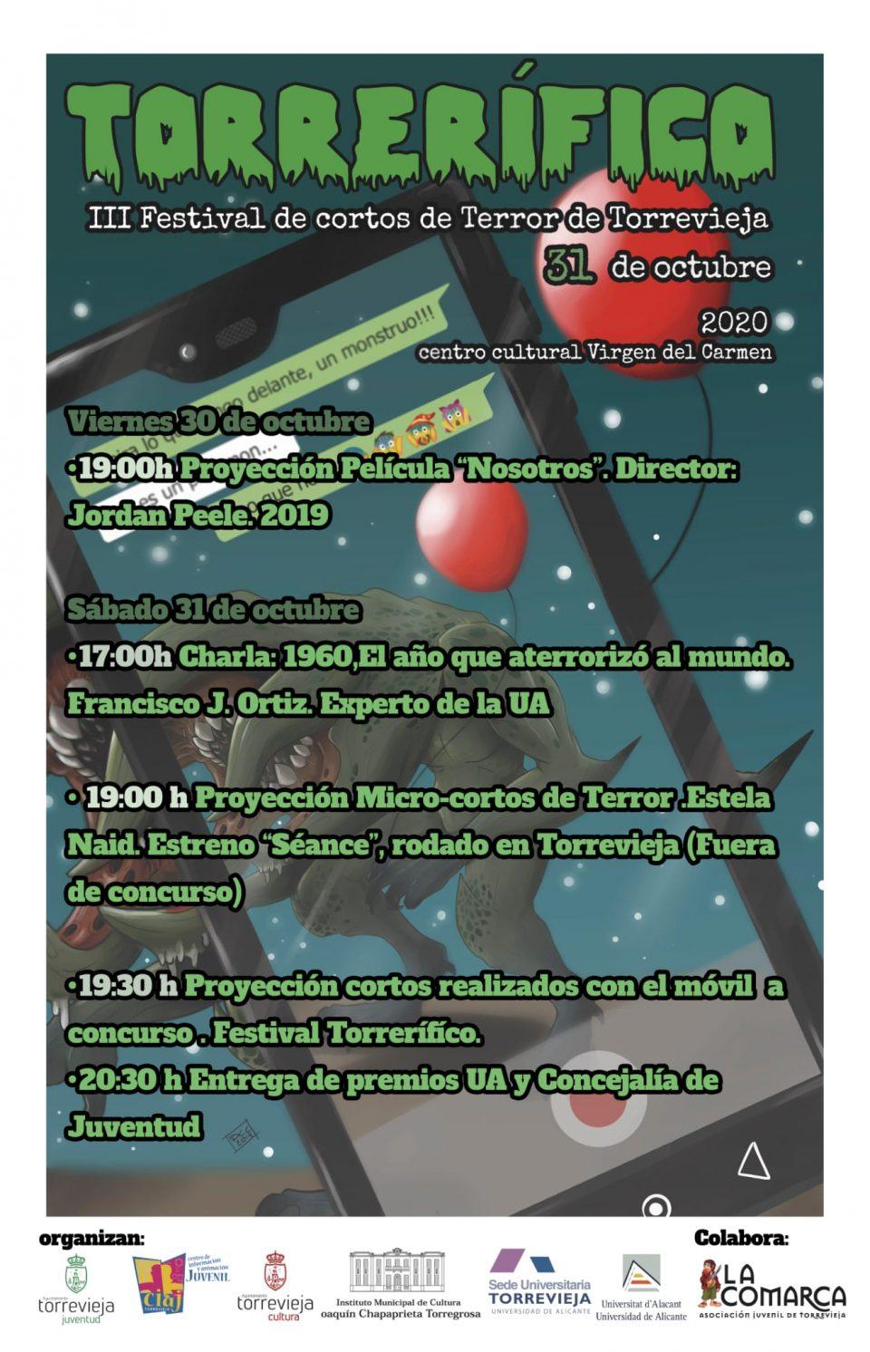 Torrevieja celebra el III Festival de Cortos de Cine de Terror 6