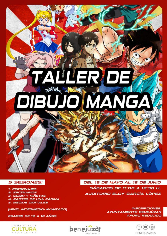 Benejúzar ofrece talleres gratuitos de dibujo Manga 6