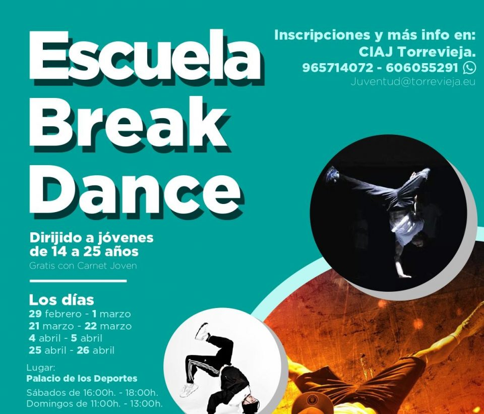 Juventud Torrevieja impulsa una escuela de Break Dance 6