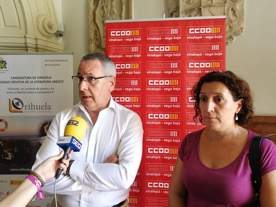 CCOO plantea propuestas para los trabajadores afectados por las inundaciones 6