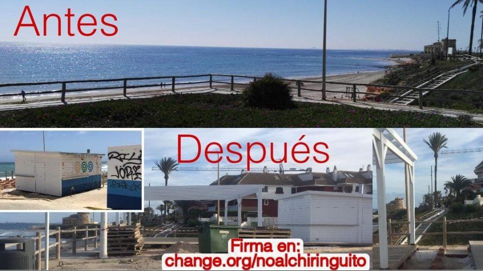 Vecinos de Torre de la Horadada denuncian el cambio de ubicación del chiringuito de la playa de Jesuitas 6