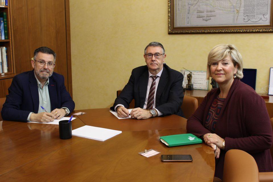 La CHS se reúne con representantes de la Generalitat y las Cortes para analizar la Vega Baja 6