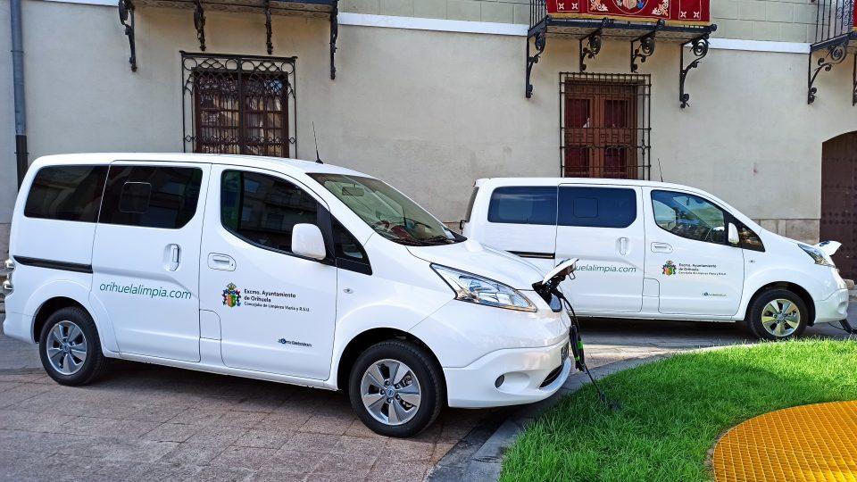 Renovación en la flota con vehículos cien por cien eléctricos para la concejalía de RSU 6