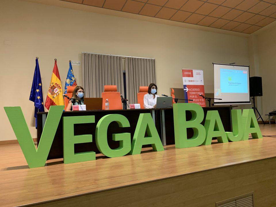 """El Acuerdo Territorial de la Vega Baja acoge una formación del plan """"Avalem Territori"""" del LABORA 6"""