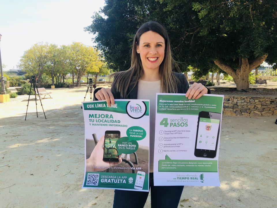 Cox habilita una App para que los vecinos comuniquen incidencias del municipio 6