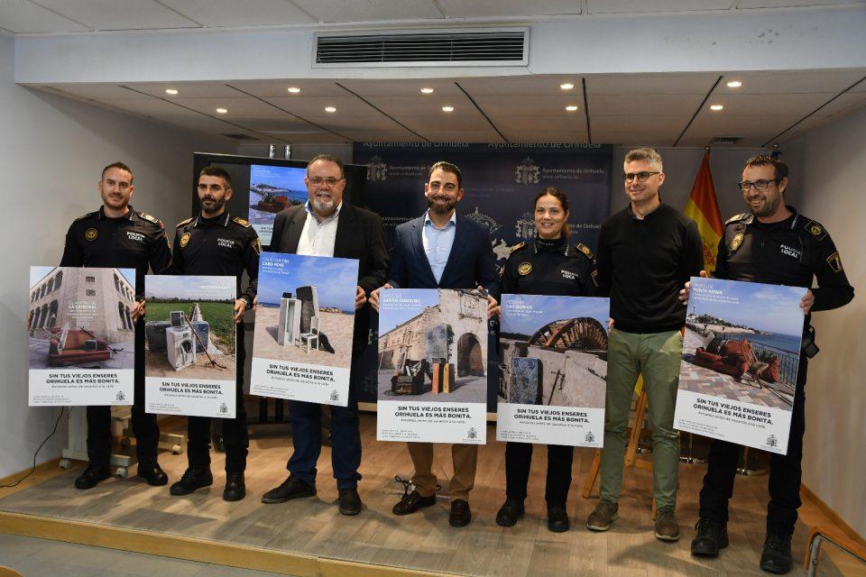Orihuela lanza una campaña de recogida de enseres domésticos 6