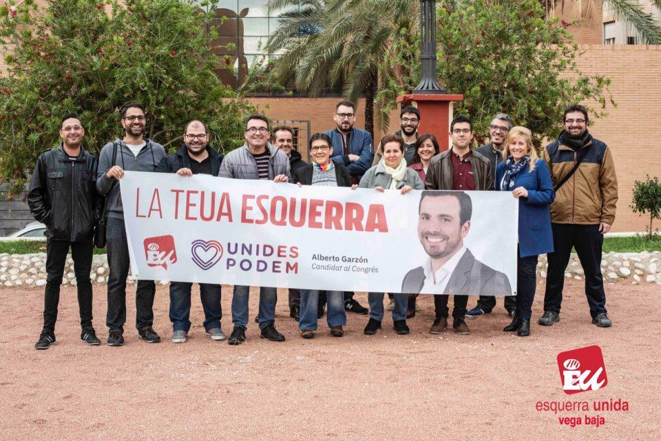 IU presenta 12 candidaturas en la Vega Baja 6