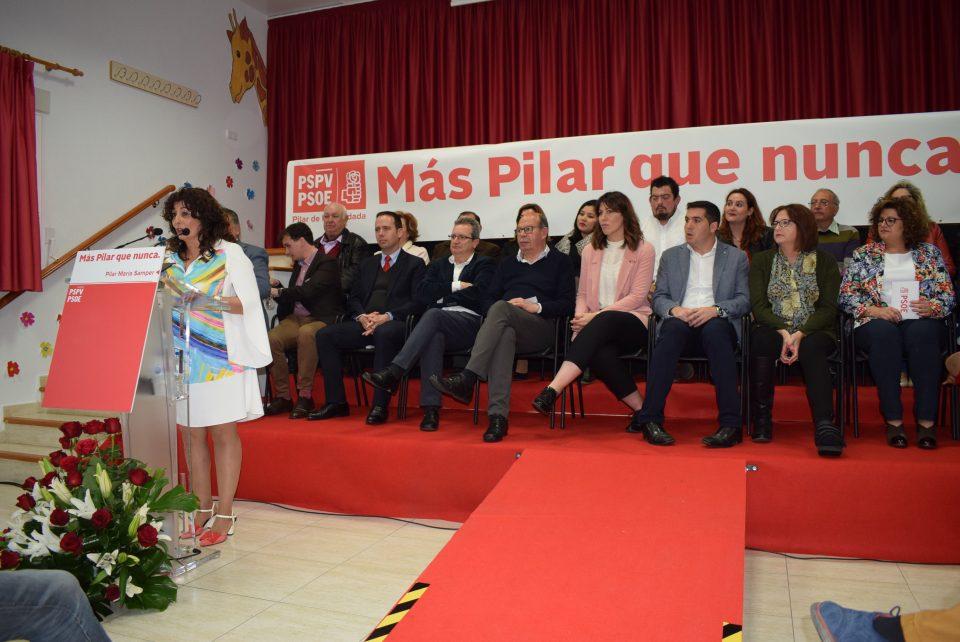 La candidatura del PSOE pilareño es continuista 6