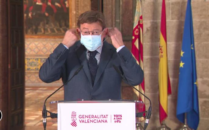 El Toque de Queda entra en vigor en la Comunidad Valenciana 6
