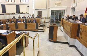 Agua y plurilingüismo centran el Pleno de la Diputación 7
