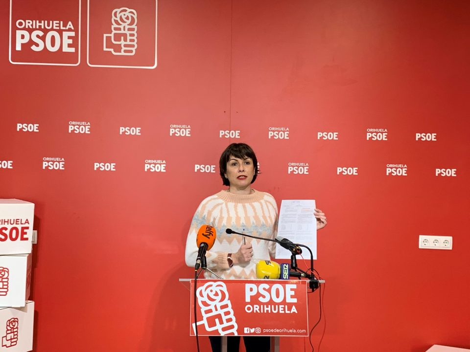 """El PSOE de Orihuela pide explicaciones sobre el retraso en los pagos del """"Plan Resistir"""" 6"""