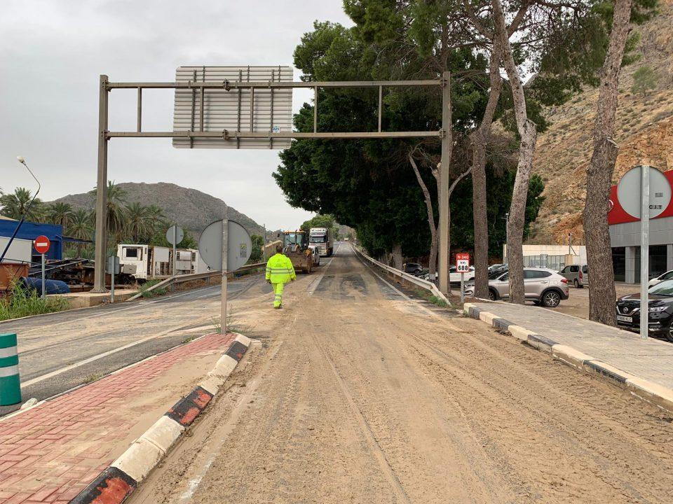 Estos son los accesos a Orihuela disponibles y las carreteras cortadas 6