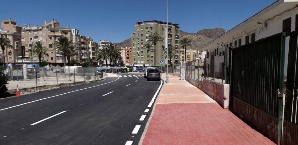 Abierto al tráfico el nuevo paso sobre la losa del AVE en Orihuela 6