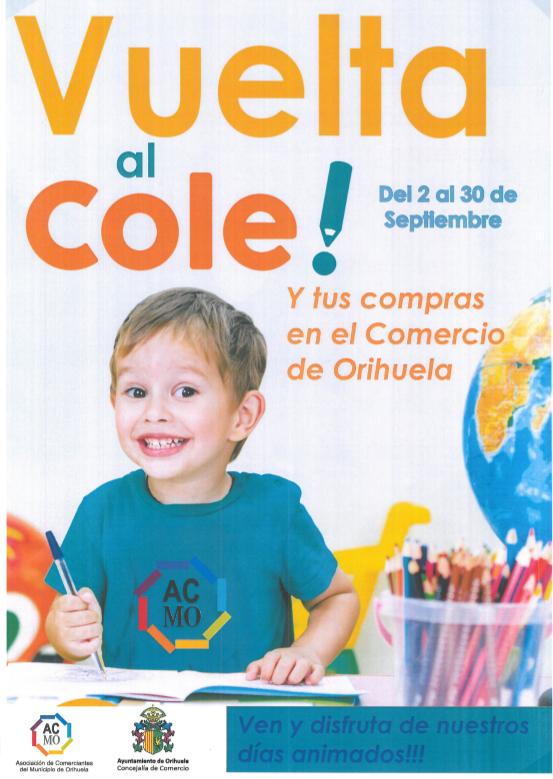 """Comienza la campaña """"Vuelta al Cole y tus compras en el Comercio de Orihuela"""" 6"""