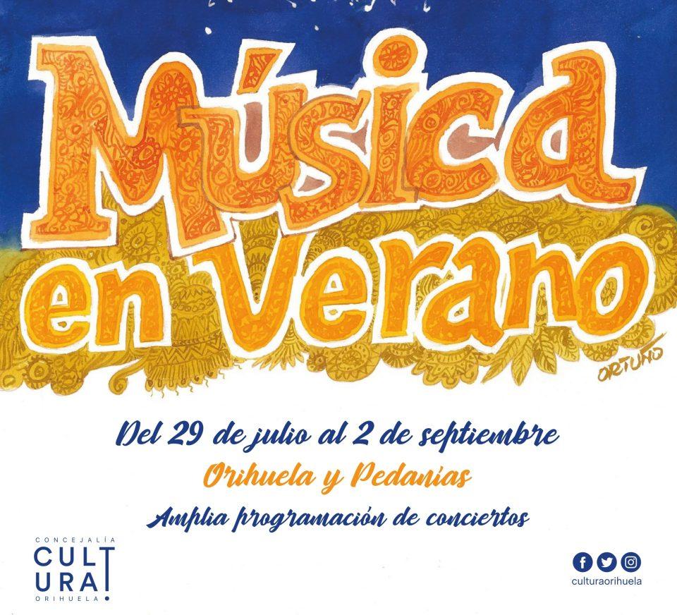 Cultura presenta un amplio programa de conciertos veraniegos en Orihuela y pedanías 6