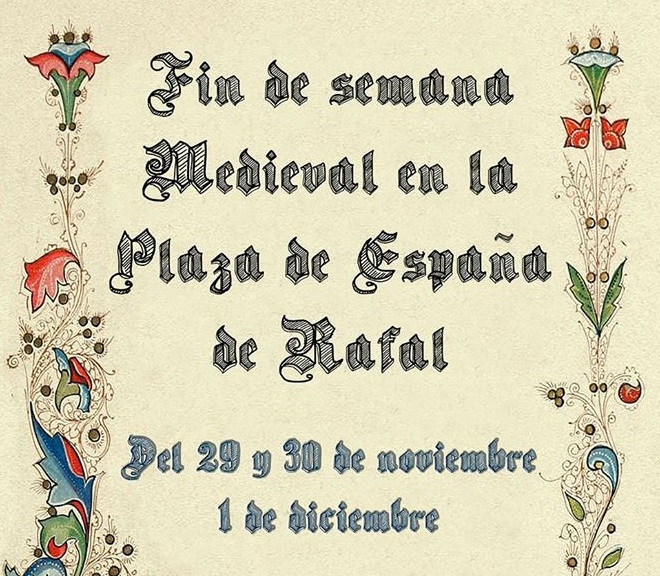 Rafal celebra su Mercado Medieval este fin de semana 6