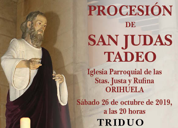 Preparados los actos en honor a San Judas Tadeo en Orihuela 6