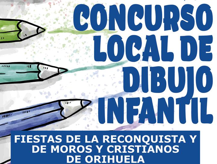 Convocado el Concurso de Dibujo Infantil de los Moros y Cristianos de Orihuela 6