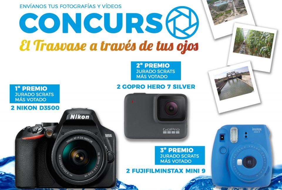 Convocan un concurso fotográfico y de vídeo para celebrar el 40º aniversario del Trasvase 6