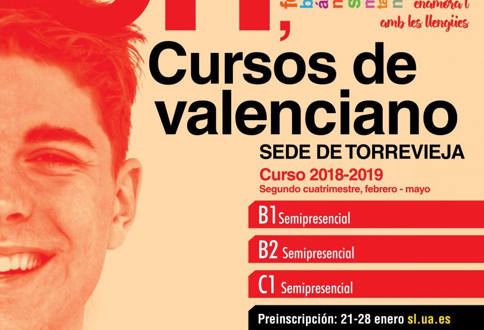 La UA oferta nuevos cursos de valenciano en Torrevieja 6
