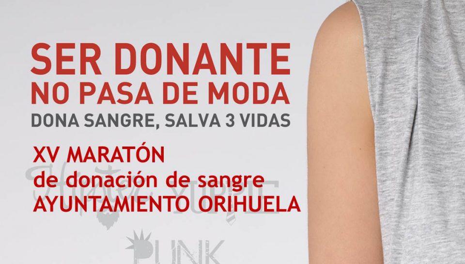 Orihuela acoge la XV maratón de donación de sangre 6